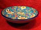 Longwy Enameled Hand Painted French Footed Bowl, fm833  COOL GIFT IDEA!!