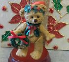 Hallmark Keepsake Christmas Ornament Gift Bearers, Articulated Figurine Bear NIB