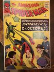 Amazing Spider Man 12 MARVEL 1964 Doctor Octopus unmasks Spider Man cover