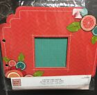 Heidi Grace CHIPBOARD ALBUM w Rings 6 Double Sided Pages  8 Punch Outs NEW