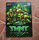 TMNT, 2007 - LUXOR - COMPLETE ALBUM WITH ALL STICKERS IN IT