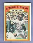 1972 Topps Card #310 Roberto Clemente In Action Pirates BV25 low grade