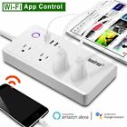 WiFi Smart Power Strip Smart Surge Protector with 4 USB Ports and 4 Outlets