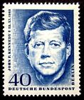 GERMANY 1964 JOHN F KENNEDY JFK PRESIDENT MINT MNH SINGLE