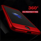 360 Case For iPhon 6 6s 7 Plus Protective Tempered Glass For iPhon 5 5s 8 8 Plus