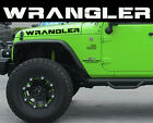 Wrangler Decal Set Jeep Decals Hood and Fender Graphics TJ JK CJ YJ Rubicon