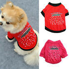 Pet Dog Puppy Chihuahua Its Raining Love T Shirt Pet Clothes Costume Apparel