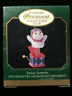 1999 Hallmark Miniature Christmas Ornament Snowy Surprise jack in the box club