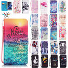For Samsung J7 2016 2017 Painted Magnetic Leather Wallet Stand Case Flip Cover