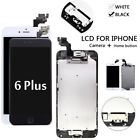 For Apple iPhone 6 Plus 5.5'' Touch Screen LCD Digitizer Assembly+Button Camera
