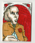 Elephant Man 2013 Viceroy Carnival Artist Sketch Card by Janet Lee 1 1