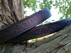 HANDCRAFTED VINTAGE CALIFORNIA 1924 SEQUOIA CONE NATIONAL PARKS BELTS