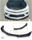 For 16 Up Camaro SS  ZL1 Style ABS Plastic Front Bumper Lower Lip Splitter