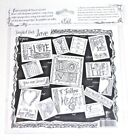 Hand sketched cards ATC designs Tattered Tangles Angels Tangled Pack Love