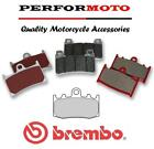 Brembo SA Sintered Road Front Brake Pads BMW R1200 GS Adventure 2010