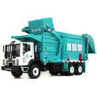 KDW 1 43 Scale Diecast Waste Management Garbage Truck Toys for Kids With Bin