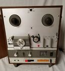 AKAI X-1800SD REEL TO REEL TAPE PLAYER w/ 8 TRACK PLAYER Super Deluxe Vintage