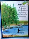 Art Impressions Silhouette Fisher Retired Ugetphoto2Lkexamples RUBBER STAMPS