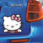 Hello Kitty Car Stickers Cartoon For Rearview Handles Windows Interior Exterior