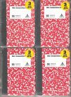 LOT OF 12 AMERICAN SCHOLAR MINI COMPOSITION NOTEBOOKS SEWN PAGES