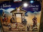 Large Retired Costco Kirkland 13 Piece Christmas Nativity Set LP1