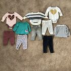 Baby Girl Clothing Lot 5 Outfits Size 3 6 Months Winter Spring Fall Old Navy