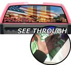 P130 Twin Towers 9 11 Rear Window Tint Graphic Decal Wrap Back Pickup Graphics