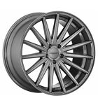 Set4 New 20 Vossen Wheels VFS2 Gloss Graphite Rims