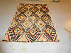 old Moroccan rug distressed happy carpet mid century modern 4'7''x7'1'' estate
