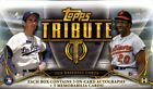 2016 Topps Tribute Baseball Factory Sealed Hobby Box 3 ON CARD Autos 3 Relic