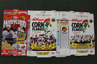1993 Montreal Canadiens & Canucks Kelloggs Cereal Box Lot Champs 1994 Flat NHL
