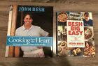 Jon Besh Cookbooks Signed Cooking From The Heart Besh Big Easy