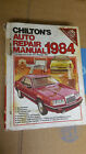 Chilton American Cars 1984 Repair Manual Corvette Holley carbs Cutlass hardback