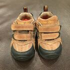 Stride Rite Boys Size 45 Transporter Brown Leather Baby Infant Shoes 45W Shoes