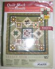 JoAnn Quilt Block of the Month 10 Kit LEGACY STAR Memory Star 12 Square NEW