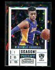 2017-18 Contenders D'ANGELO RUSSELL Cracked Ice 18 23 Season Ticket