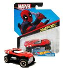 Hot Wheels Marvel Deadpool Character Car Mint on Card