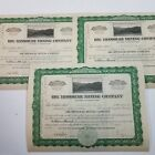 Stock Certificates for Big Missouri Mining Company Pre 1929 Stock Market Crash