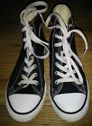 Converse All Stars Youth Sneakers Sz 2 Black High Top Sneakers Canvas Unisex