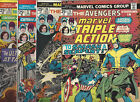 Marvel Triple Action Lot of 4  25 26 27 28 FN+ or better condition