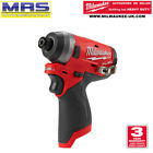 MILWAUKEE M12FID-0 FUEL COMPACT ¼˝ HEX IMPACT DRIVER KIT GEN.2 - 4933459822