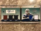 2010 Topps Prime Dez Bryant Auto Relic Booklet Card #8 15 COWBOYS
