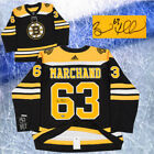 Brad Marchand Signed Boston Bruins Adidas Authentic Jersey