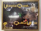 ULTIMATE QUEST Adventure and Strategy BOARD GAME w CD Rom Native American Game