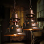 Retro Industrial Hanging Pendant Lamp Chandelier Light Copper Iron Ceiling Light
