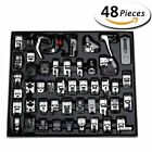 Aiskaer Professional 48pcs Sewing Machine Presser Feet Set for Brother, Babylock