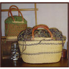 BASKET LINERS OVAL PATTERN From Clothesline Quilts NEW