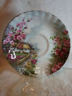 SAUCER ONLY:  Royal Albert Country Scenes - Rose Cottage = Bone China - England