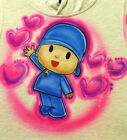 Custom Airbrushed Pocoyo Shirt with Name Sizes 6 months Adult 5XL