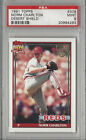 Norm Charlton 1991 Topps Desert Shield PSA 9 Mint Graded Card Reds #309